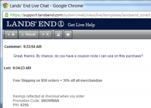 Frugal Hack #3: Use Live Chat To Score Deals