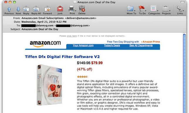 Amazon.com Scam Email