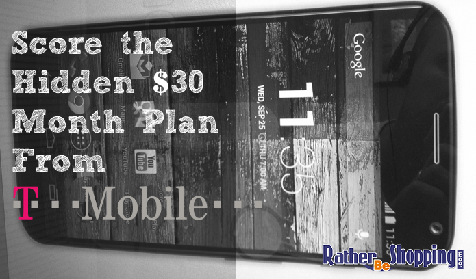 T-Mobile Hidden Plan
