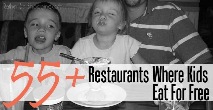 Restaurants Where Kids Eat For Free