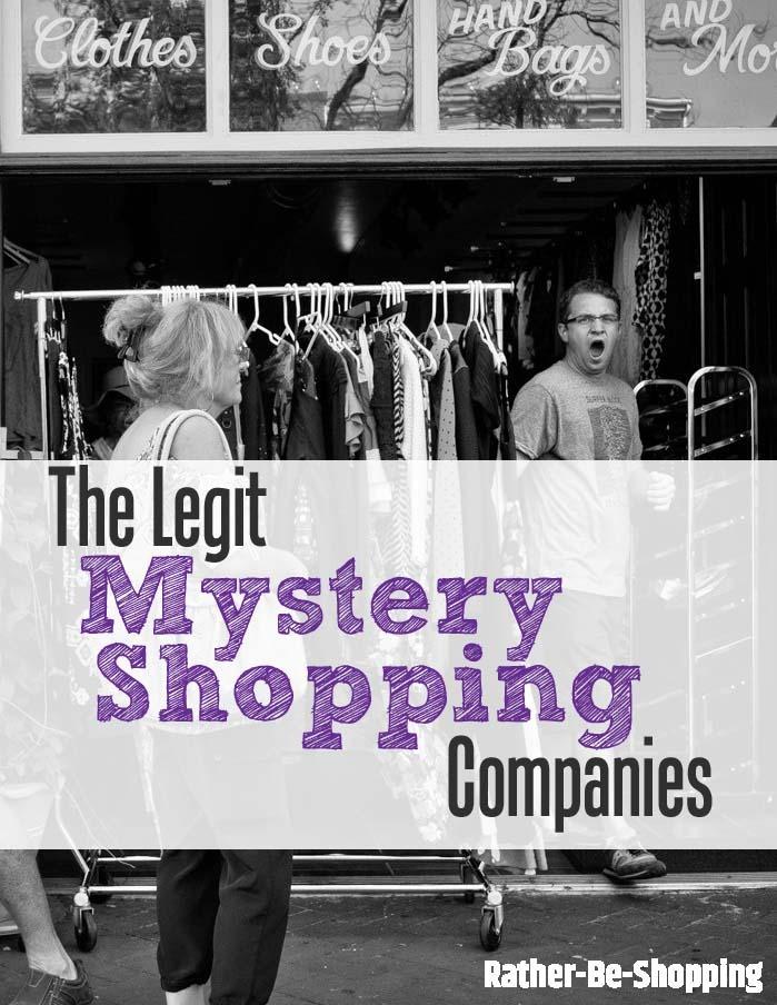 Mystery Shopping Jobs