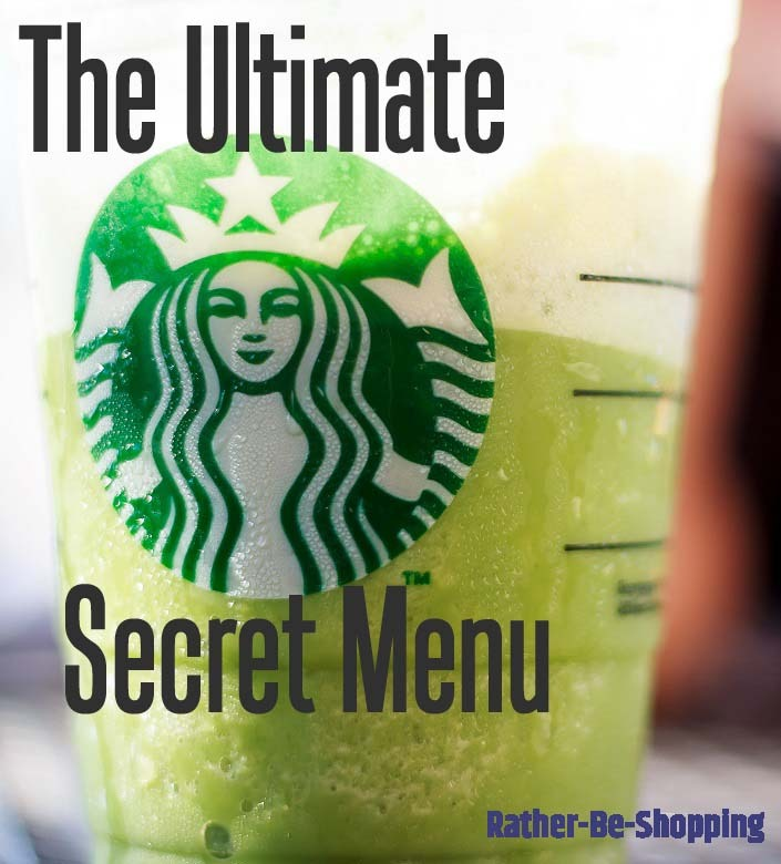 Starbucks Secret Menu to Help You Save Money (Well, Not Really, It's Just Fun)