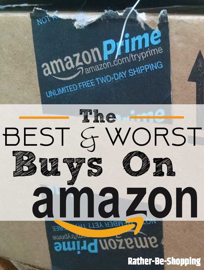 The 14 Best & Worst Things to Buy On Amazon