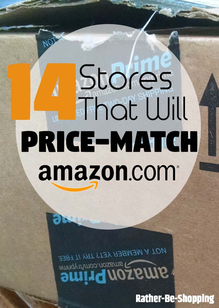 14 Popular Stores That'll Price Match Amazon.com