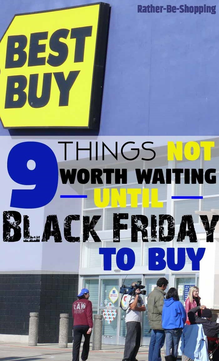 9 Things NOT Worth Waiting 'Til Black Friday to Buy