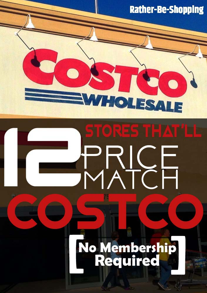 Skip the Membership: All The Stores That'll Price Match Costco