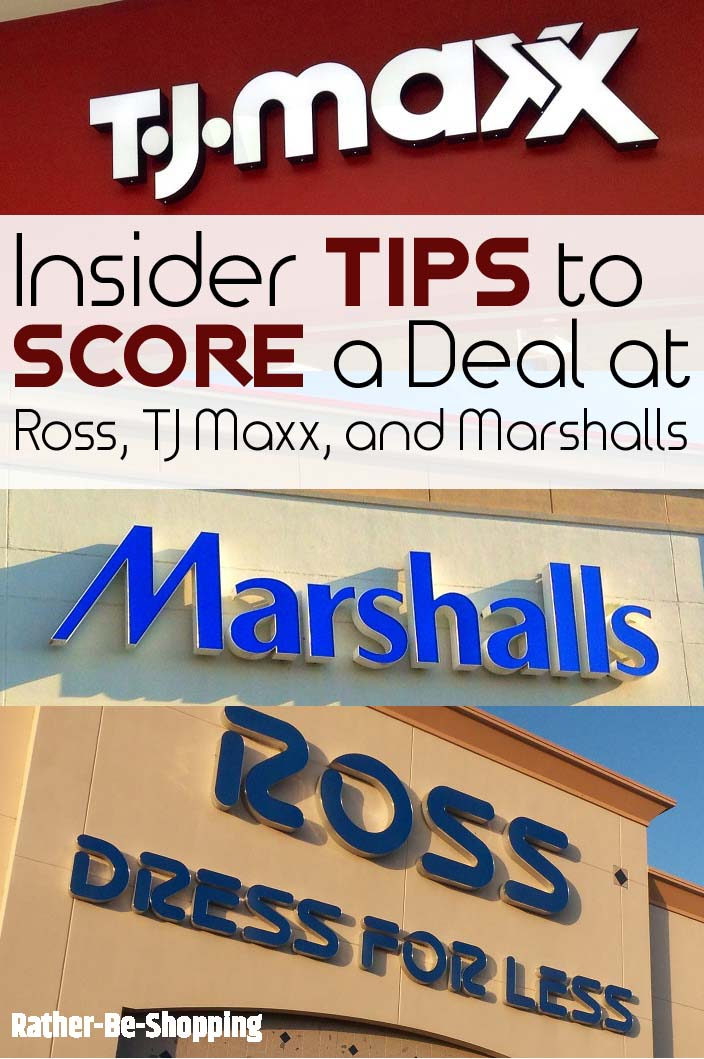 How To Score The Best Deal At Tj Maxx Ross And Marshall S