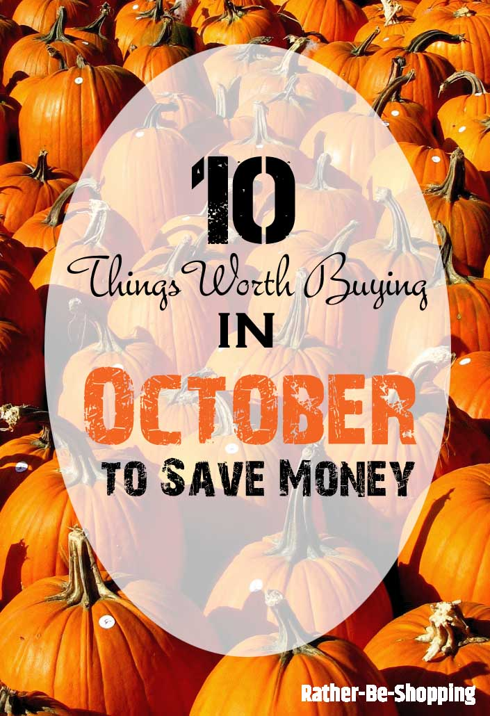 October Buying Guide