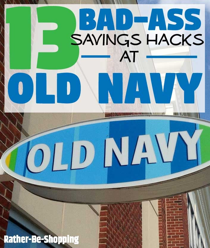 13 Old Navy Hacks That'll Change the Way You Shop