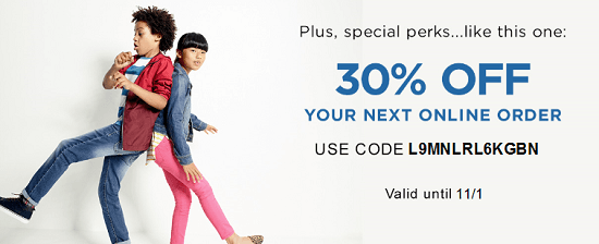 Old Navy New Email Subscriber Coupon