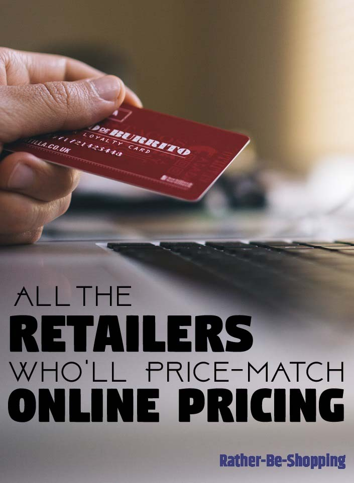 Which Retailers Will Price-Match Online Pricing