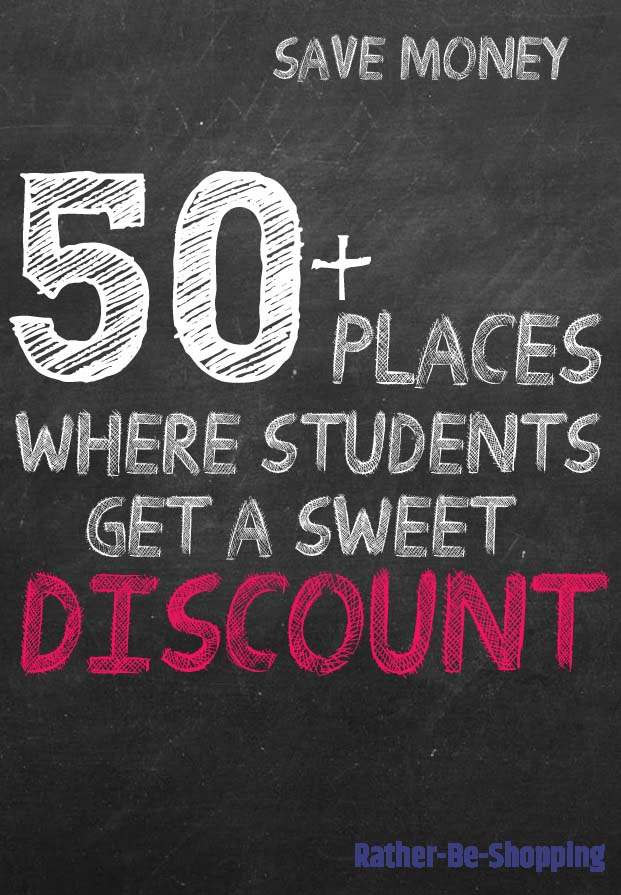 50+ Student Discounts That Will Save You BIG