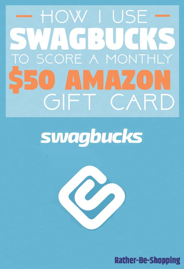 Swagbucks Review: How to Score a Monthly $50 Amazon Gift Card