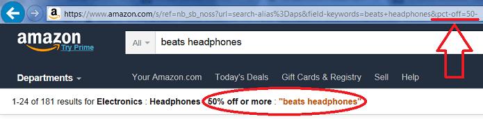 Amazon URL Hack