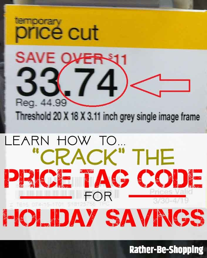 "How to ""Crack the Price Tag Code"" for Holiday Savings"