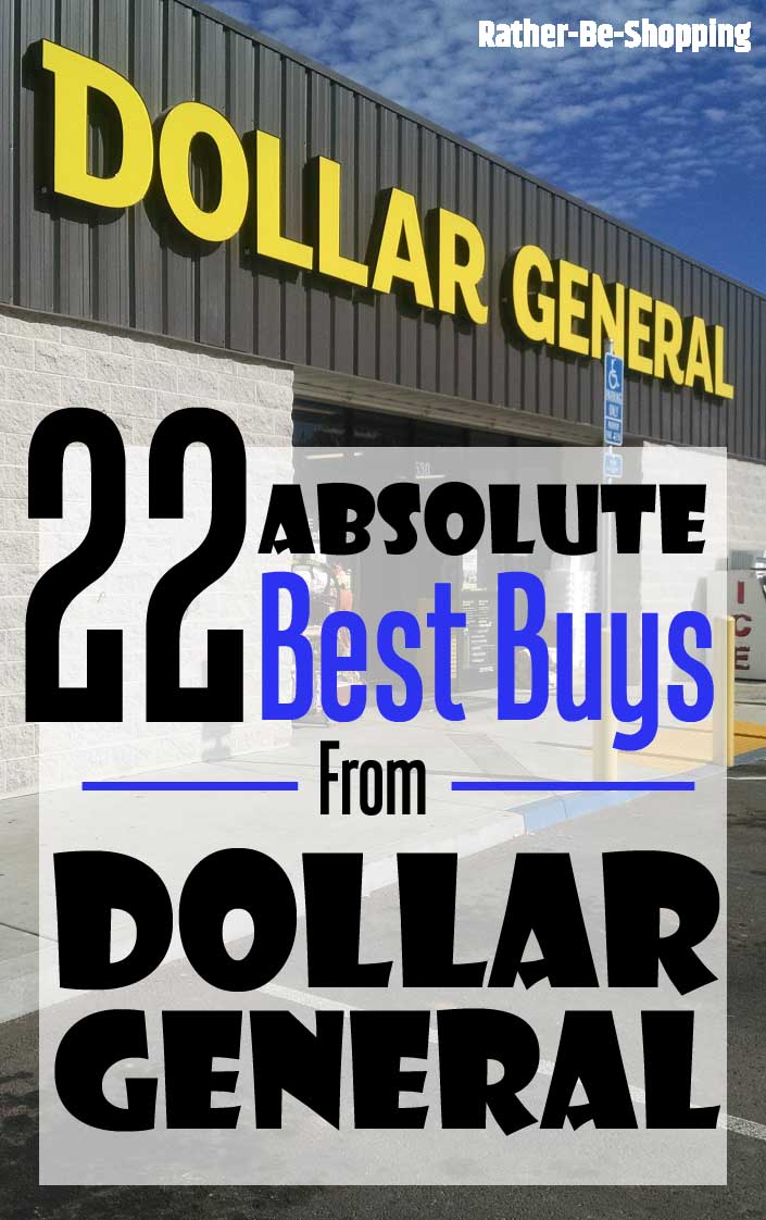 The 22 Absolute Best Buys at Dollar General (Some Will Shock You)