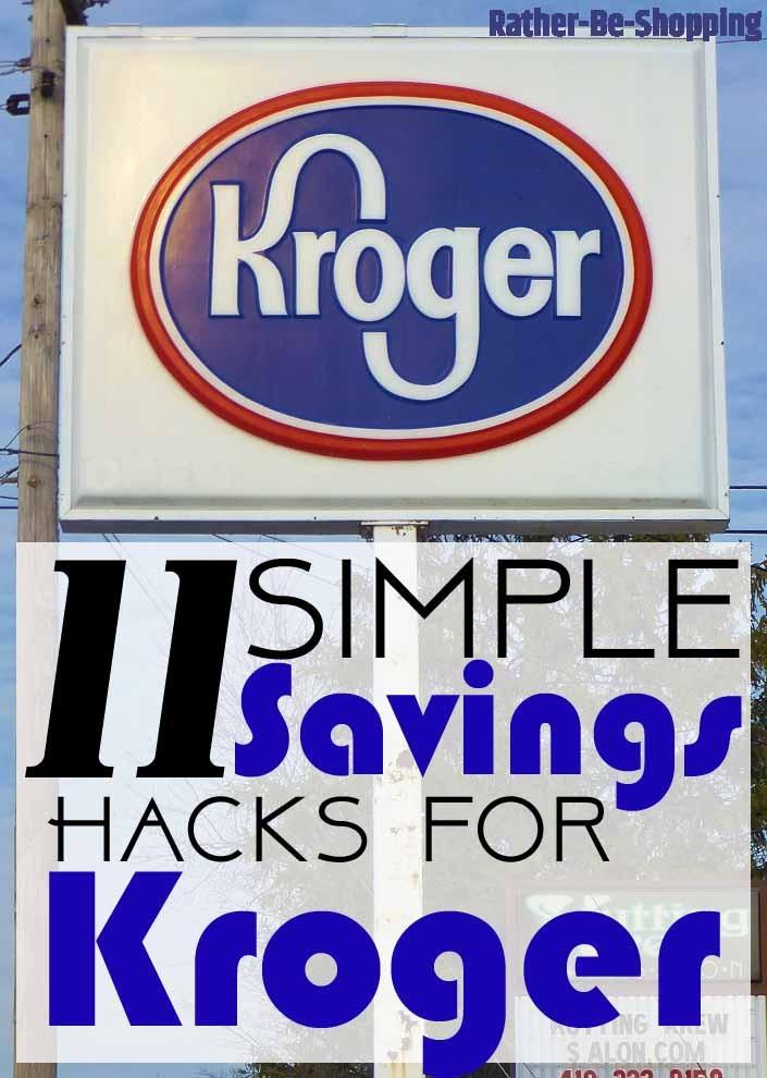 11 Simple Hacks to Save Money at Kroger