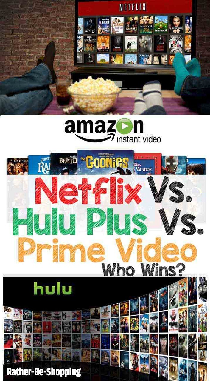 Netflix Vs. Amazon Prime Video Vs. Hulu Plus: Which is Right For You