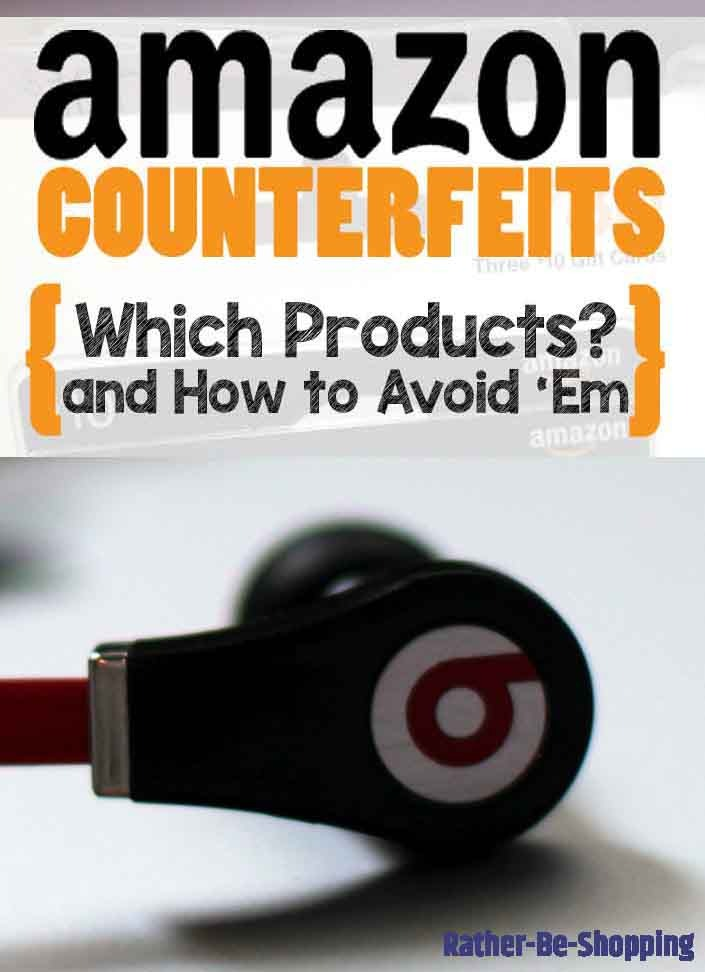 Amazon's Counterfeit List: 13 Items That'll Really Surprise You