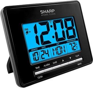Sharp Atomic Clock