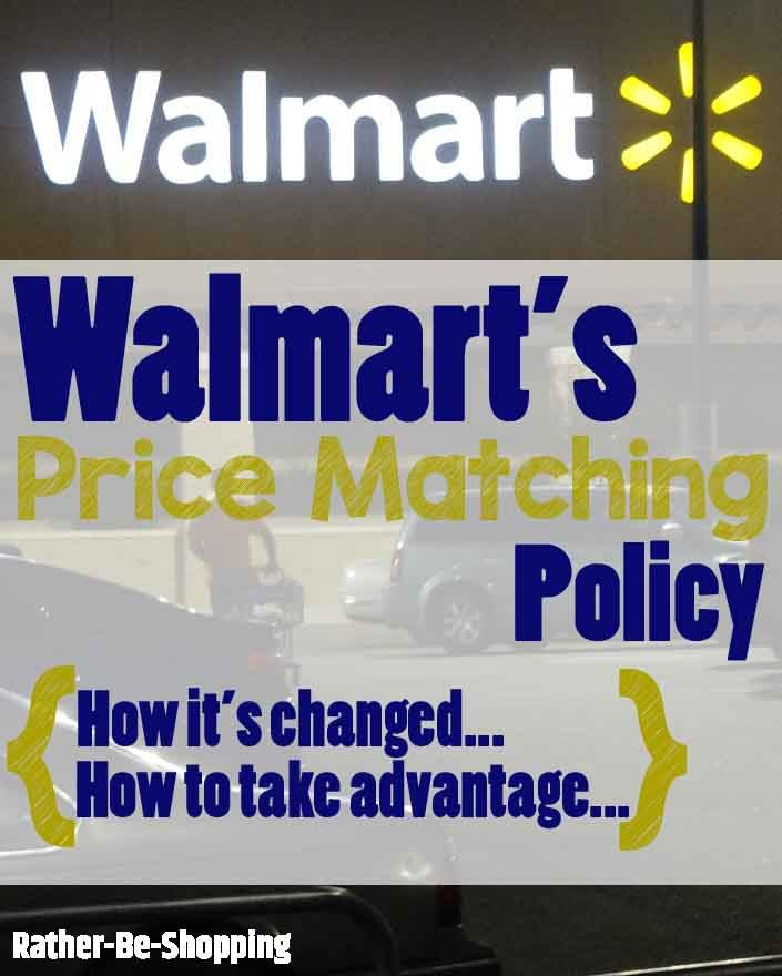 "How To Score the Elusive Walmart ""Online"" Price Match"
