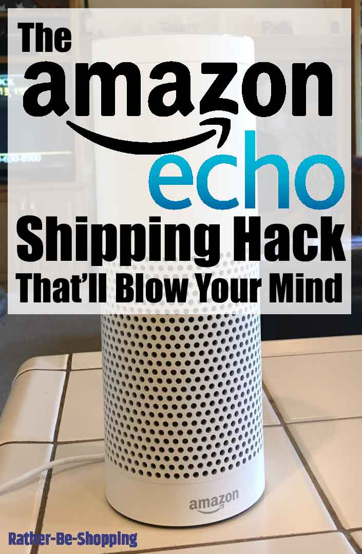 The Amazon Echo Shipping Hack That'll Blow Your Mind