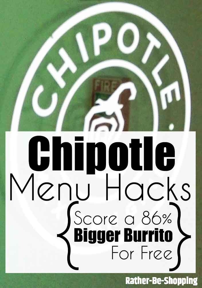 4 Chipotle Menu Hacks: How to Score a 86% Bigger Burrito for Free