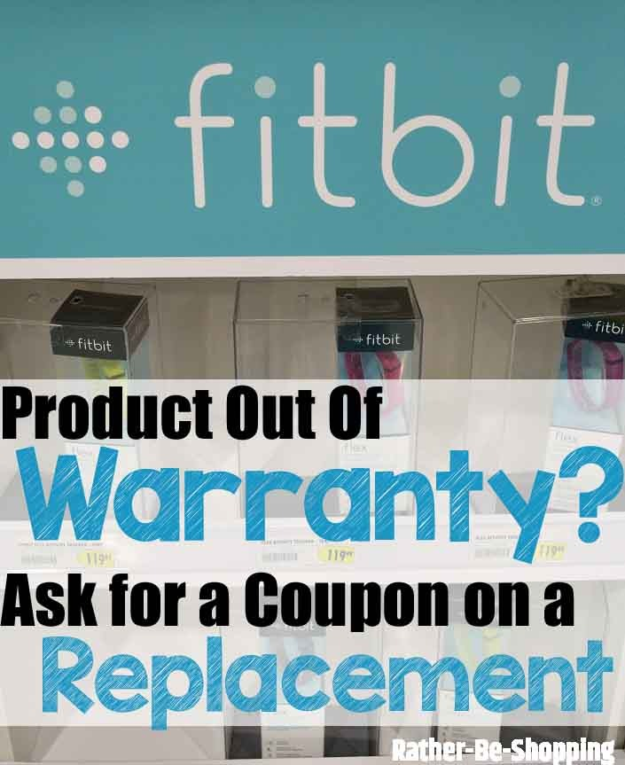 Product Out of Warranty? Ask Company For a Coupon on a Replacement