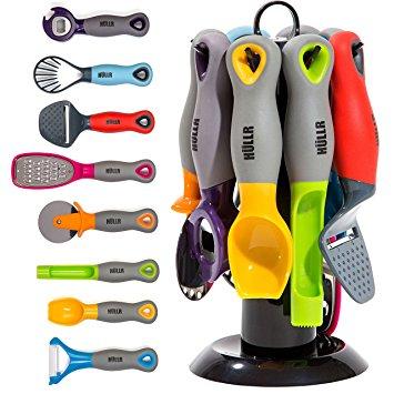 HULLR 9-Piece Kitchen Gadgets Tools Set