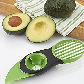 Rienar 3in1 Multi-function Avocado Slicer Peeler