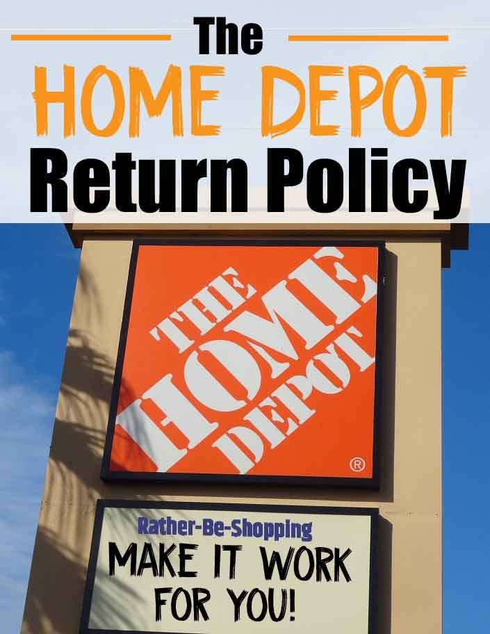 Home Depot Return Policy: The In's & Out's To Make It Work For You