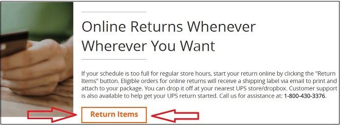 Home Depot Online Returns
