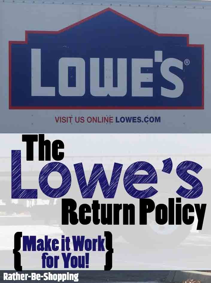 Lowe's Return Policy: Make It Work For You (and Rock Your Next DIY Project)