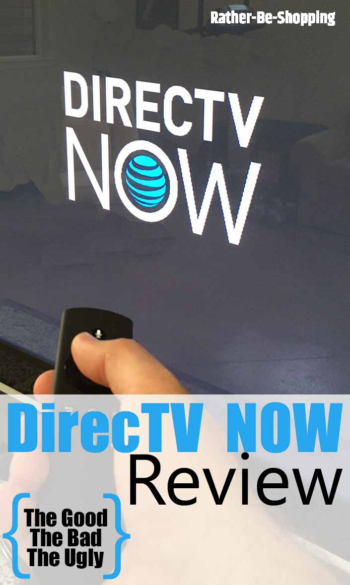 DirecTV NOW Review: The Good, The Bad & The Ugly