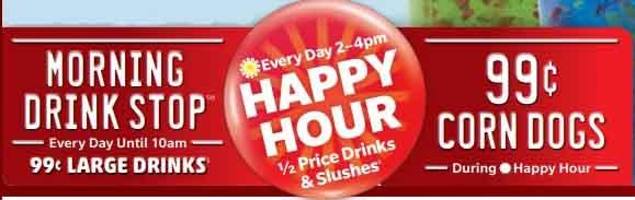 Sonic Happy Hour