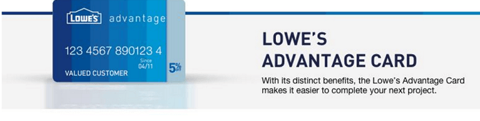 Lowe's Consumer Card