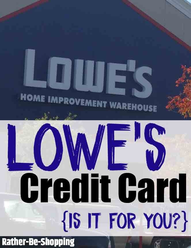 Lowe's Credit Card: Insider Tips to To Make It Work For You