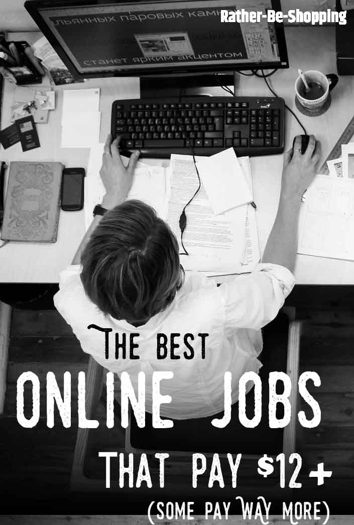 The Best Work From Home Jobs That Pay $12+ Per Hour