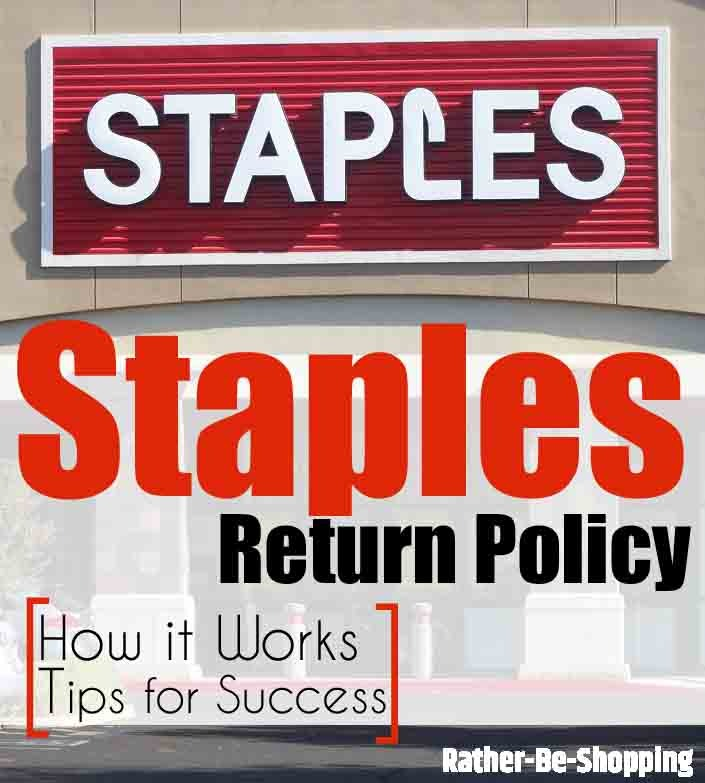 Staples Return Policy: How It Actually Works + Hacks for Success