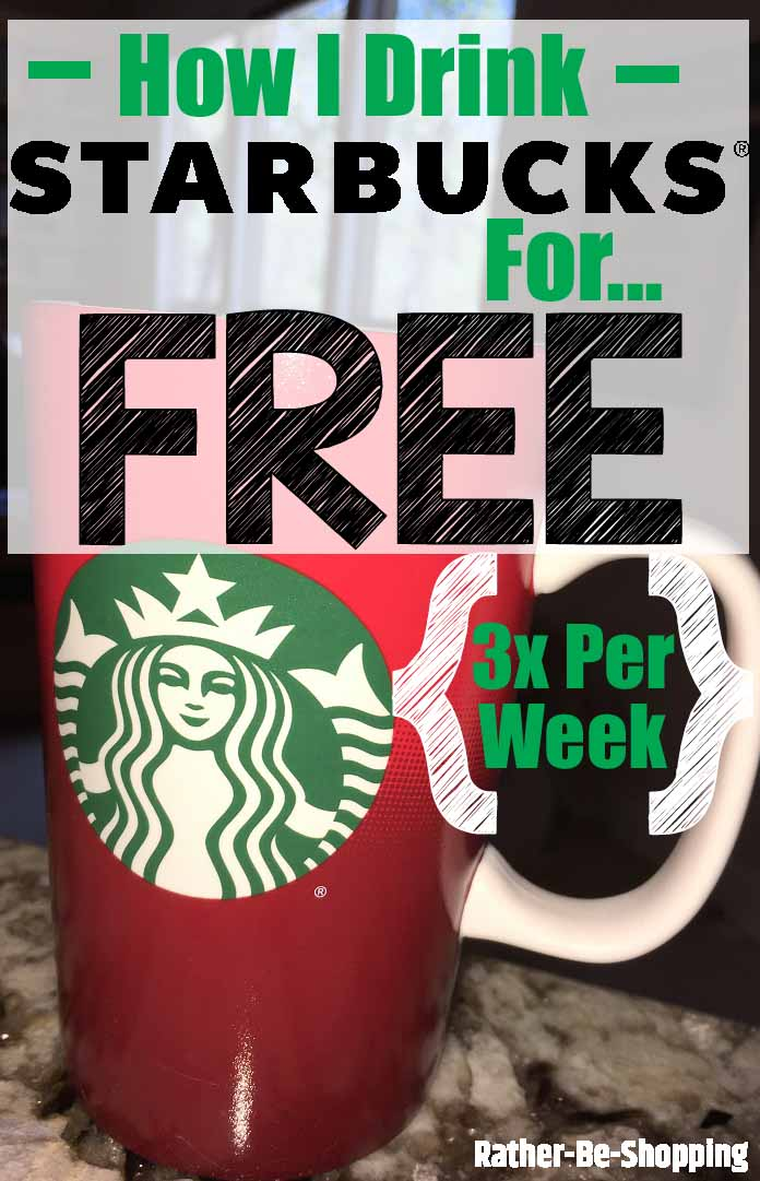 This Is How I Score Free Starbucks 3 Days Per Week (Oh, and It's WAY Easy)