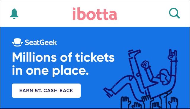 Ibotta Tickets