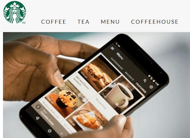 Starbucks Mobile Pay App