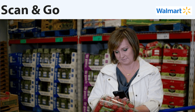 Walmart Scan App