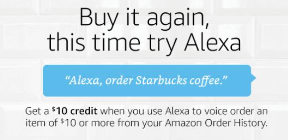 Alexa $10 Credit