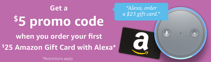 Alexa $5 Credit