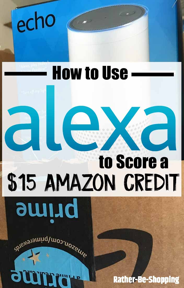 Use Alexa for Holiday Shopping and Score $15 in Amazon Credits