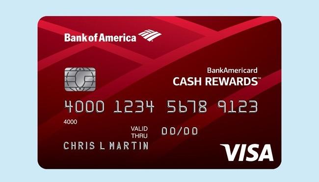 Bank of America Cash Rewards Visa