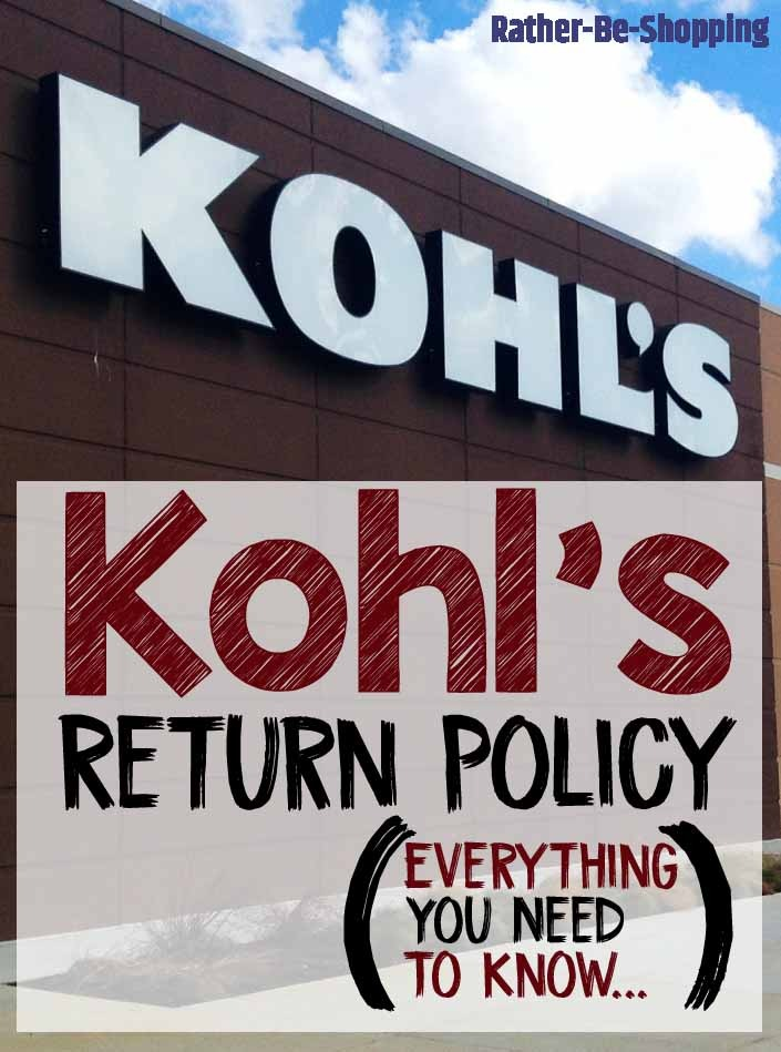 Kohl's Return Policy: Here's How It Works + Tips for Success