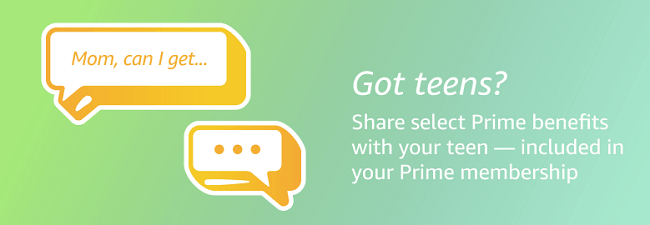 Sharing Prime with Teens