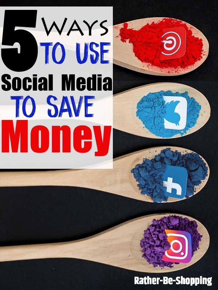 5 Genius Ways to Use Social Media to Save Money